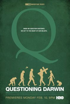 Questioning Darwin on HBO tonight