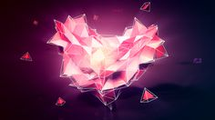 #3D #graphic #graphicdesign #Heart