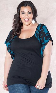 fashion, allison top, cloth, style, sleev, ropa para, para gordita, plus size women, shirt