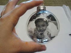 Tranparent Photo Ornaments