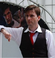 Even Matt Smith wants to touch David Tennant's hair. <--- repinning for the comment
