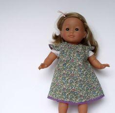 Dolls Dress for dolls sized approx 36cm/14in by TheDollsWardrobe, £12.00