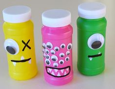 Neat Little Nest: DIY Monster Bubbles for Kids' Birthday Party