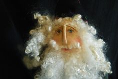 "Primitive Folk Art Santa Doll ""Antique Quilt"" by Melissa Zietz original | eBay"