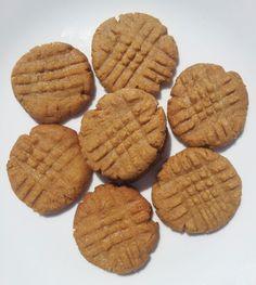 Easy Low Sugar Peanut Butter Cookie Gluten Free