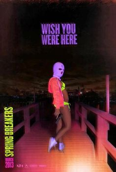 New poster of spring breakers :)