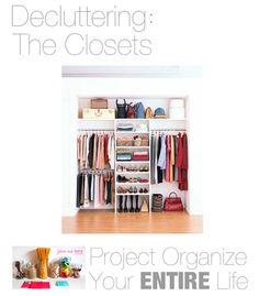 Organizing Closets - tons of ideas!