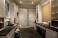 traditional laundry room by Parker Stuckey