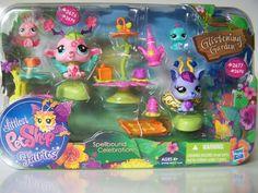 Littlest Pet Shop Fairies Spellbound Celebration Set #2676 #2677 #2678 #2679 New | eBay