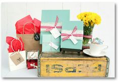Pretty packaging by Erica Clark Photography