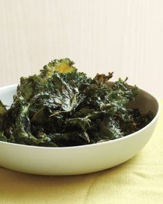 Chili-Sauce Kale Chips Recipe