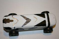storm trooper Pinewood Derby Car