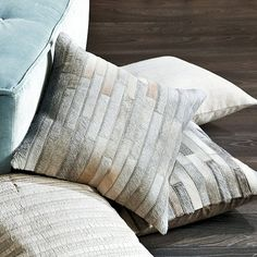 Cowhide Pillow, $89