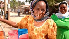 Water empowers women! Safe water supplies mean less time searching for water and less disease in the family