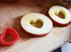 Love You Apple Slices