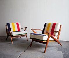 Hudson Bay Blanket Chairs
