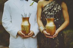 """you make me sparkle"" sparkler containers // photo by JonathanConnolly.com"