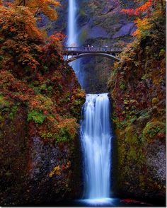 Multnomah Falls, OR #monogramsvacation