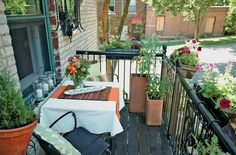 Grow food on your balcony - The Edible Landscape by Emily Tepe - photo by Paul Markert