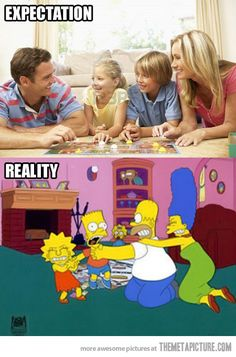 When I play a board game with my family…