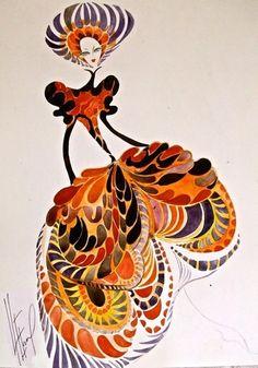 """sketchbook 2009"", random ideas by Elena Ryleeva, via Behance"