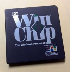 RARE Vintage IDT Winchip C6 Mech Sample CPU
