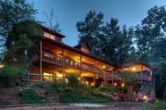 Mountain View Cabin - Morganton GA - Blue Sky Cabin Rentals