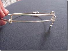 DIY Adjustable Silver Bracelets Anyone Can Make