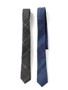 Club Monaco: Made in New York wool ties