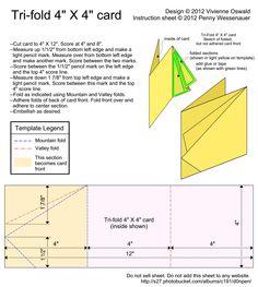 Card Templates :: Tri-fold 4X4 card image by d0npen - Photobucket