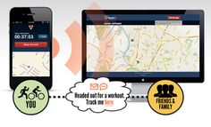 A new app by Road ID can keep your family informed while you are on your run. Check out the details of this safety app