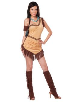 Native American Beauty Costume. This reminds me of the Pocahontas costume I had when I was obsessed with the movie!