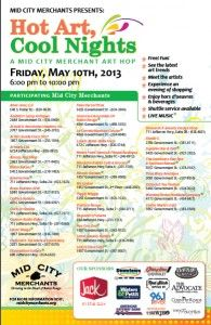 Come see some wonderful local art and visit the shops in Mid City Baton Rouge!  Brought to you by Mid City Merchants-