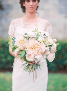 #romantic #bridal #wedding #bouquet #bloom #floral #details