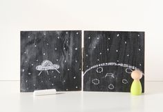 DIY play chalkboard