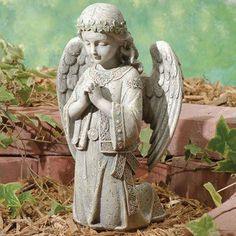 Celtic Kneeling Angel