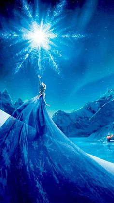 The magic world of Frozen…