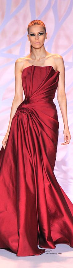 Lady in RED...Zuhair Murad Haute Couture Fall/Winter 2014-15