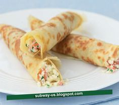 crêpes with goat cheese and chives recipe