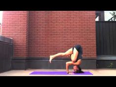 Tripod Headstand to Flying Crow (Galavasana)
