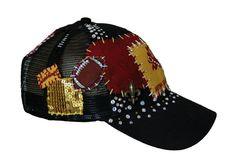 Jett-Lag ASU custom hat! Looooove it. One of a kind. Www.facebook.com/jettlagwestcoast