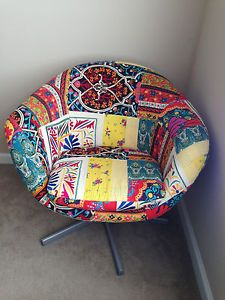 Urban Outfitters Patchwork Chair | eBay