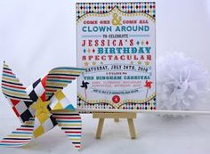 Whimsical carnival party ideas