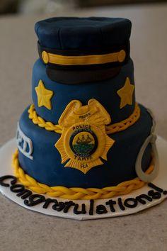 Police cake