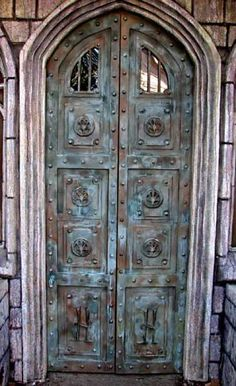 Mausoleum Doors by Brandywine Cemetery