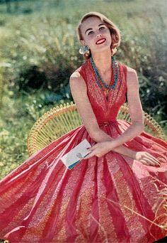 Anne Fogarty Dress 1955