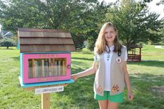 Christie Wicks. Johnston, IA. My daughter decided to build a Little Free Library for her Girl Scout Silver Award Project. Books and reading have had a very positive impact in her life, so she decided to share her love of reading with our community. Our entire neighborhood was involved in the project and everyone is very excited about the new Little Free Library!