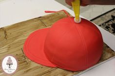 Baseball Cap Cake Tutorial - by Sweet Blossom Cakes