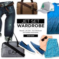 Pack up fashionably for your summer getaway! Choose from our latest hot picks this season! Shop here now- https://en-ae.namshi.com/men-jet-setter/