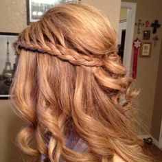 Waterfall braid.